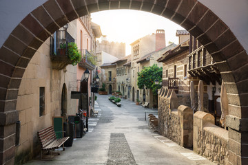 Street in the Spanish town, Spain