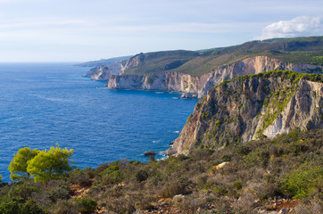 Cliffs of Keri, Zakynthos, Greece