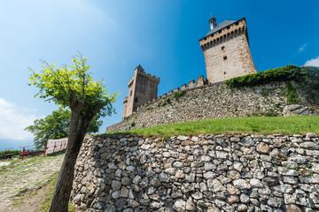 Chateau de Foix castle , France