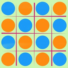 Line and Circle pattern