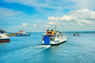 Bali ferry transportation, Indonesia