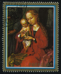 Holy Family by Schongauer