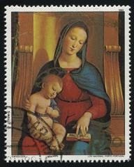 Ansidei Madonna by Raphael
