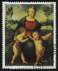 Madonna of the Goldfinch by Rafael