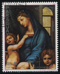 Holy Mary by Raphael