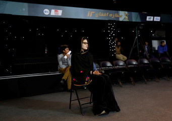 """Rehearsals of the """"Afghan star"""" music contest show in Kabul"""