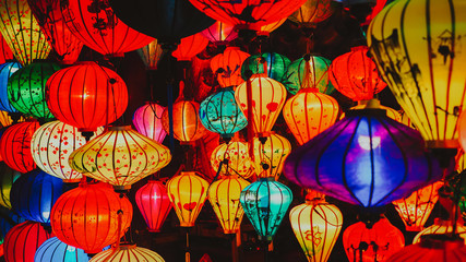 Lanterns in Hoi An UNESCO Ancient Town, VIetnam