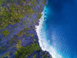 Aerial El Nido Philippines