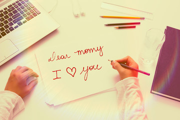 Lovely message for Mothers Day