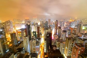 Kawloon at night