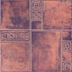 Wall Mural - Ceramics, mosaic, tile, abstract pattern