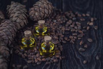 Oil of cedar nuts