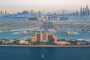 Dubai Atlantis Hotel The Palm Jumeirah Palme Insel Luftaufnahme Luftbild