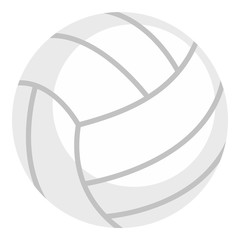 Ball for playing volleyball icon isolated