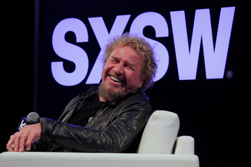 Rock and Roll Hall of Famer Sammy Hagar speaks at the South by Southwest Music Film Interactive Festival 2017 in Austin