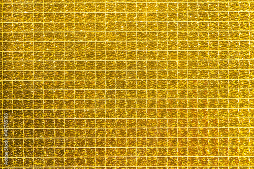 Goldgelbes Drahtglas\