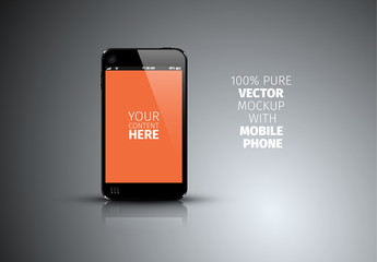 Mobile Device Mockup Template