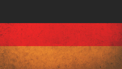 Grunge vintage Germany flag for texture background. Concept memorial of international. Vintage and grunge style.