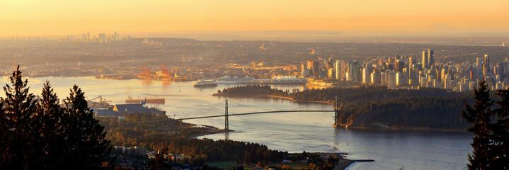 Vancouver sunrise Fototapete