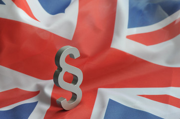 Grossbritannien, Paragraph, Brexit, Flagge, Fahne, Union Jack, Großbritannien, Vereinigtes Königreich, UK, Politik, Europarecht, Gesetz, Rechtsprechung, Justiz