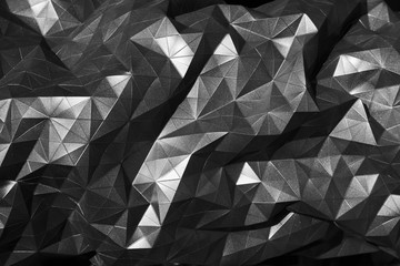 black abstract geometric background for digital design