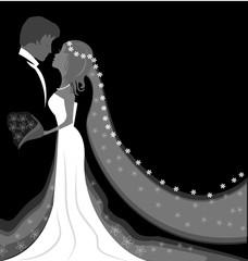 Vector - Wedding background