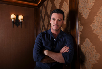 """Beauty and the Beast"" cast member Luke Evans is photographed in Beverly Hills, California"