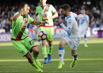 Football Soccer - Napoli v Crotone - Italian Serie A