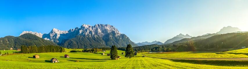 Alpenlandschaft im Karwendel Wall mural