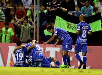 Football Soccer - Copa Libertadores- Paraguay's Libertad v Argentina's Godoy Cruz