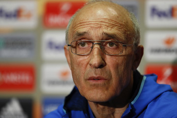 FC Rostov coach Ivan Daniliants during the press conference