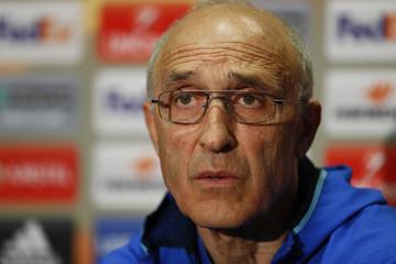 FC Rostov coach Ivan Daniliants during the press conference