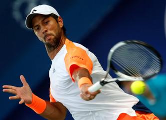 Tennis - Dubai Open - Men's Singles - Fernando Verdasco of Spain v Robin Haase of Netherlands - Dubai