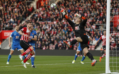 Bournemouth's Artur Boruc in action
