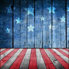 USA style background