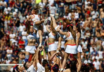 Football Soccer - Bologna v AS Roma - Italian Serie A