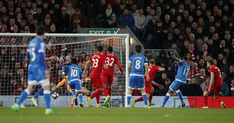 Bournemouth's Joshua King scores their second goal