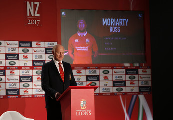 British & Irish Lions tour manager John Spencer as Ross Moriarty is announced in the squad