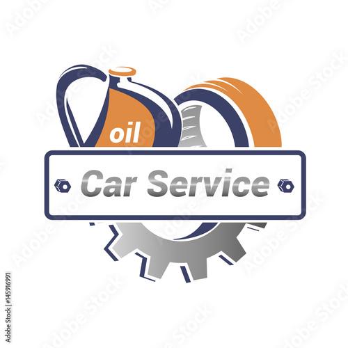 vector logo template for car service auto parts service icon rh eu fotolia com  automotive repair logo template