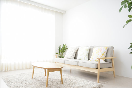 Simple room with nobody