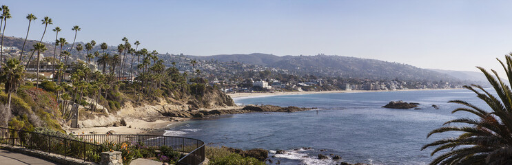 Laguna Beach panoramic view