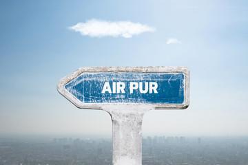 fresh air pollution respirer pur qualité polluer co2 particule ville zone urbaine environnement oxygène nuage ciel brume