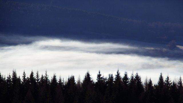 nappe de brouillard Champsaur