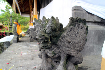 Garuda at temple in Bali