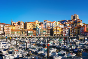 Wall Mural - port of Bermeo in Basque Country