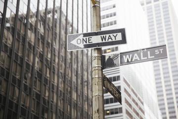 Wall Street signal.
