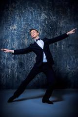 graceful male dancer