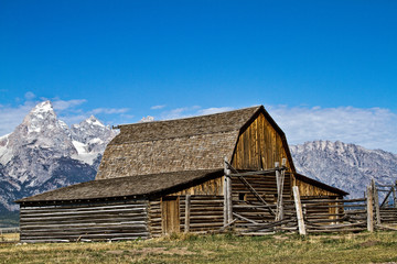 The Old Barn at Grand Teton National Park