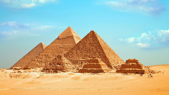 Egyptian pyramids - Egypt Travel