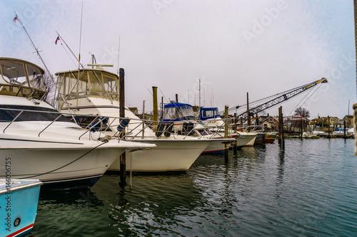 Fishing boats on pier of jamaica bay brooklyn fotolia for Brooklyn fishing boat
